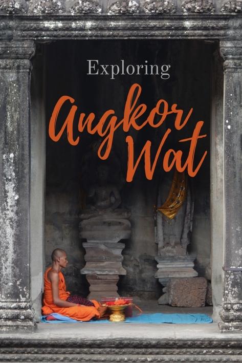 Exploring Angkor Wat (1)